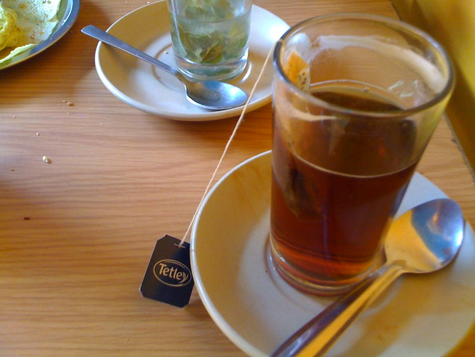 cup of black tea