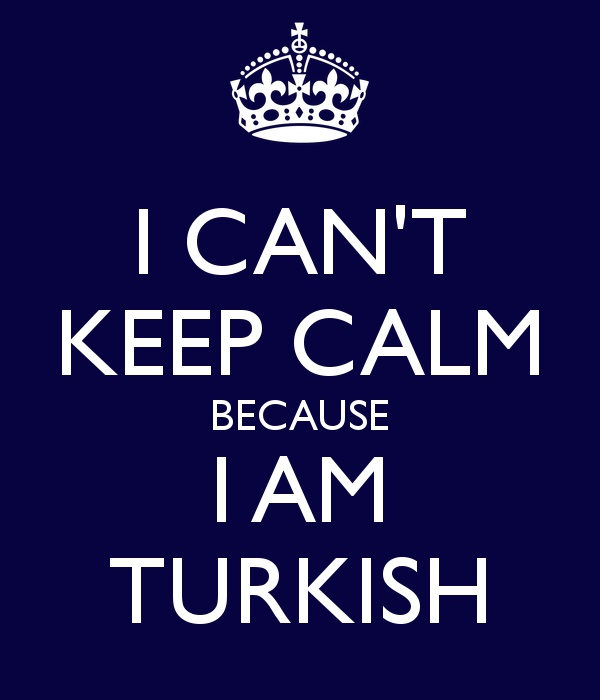 can't keep calm turkish