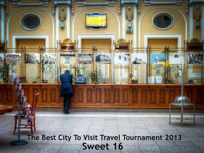 The Best City To Visit Travel Tournament 2013: Sweet 16
