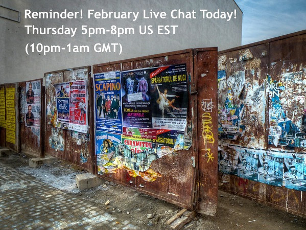 Reminder: Live Chat Later Today Right Here From 5PM-8PM US EST (10PM-1AM GMT) Taking Your Travel Questions