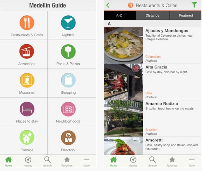medellin guide app