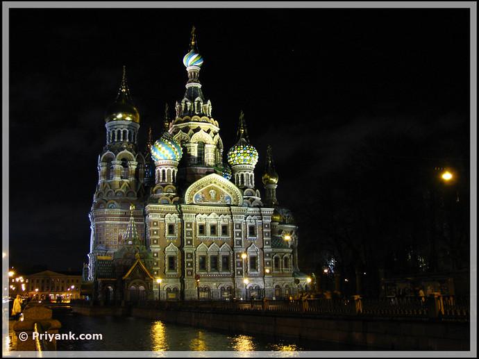 Church of the Savior on Blood - priyank
