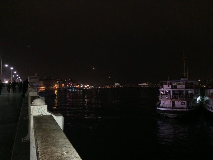 galata bridge istanbul flights