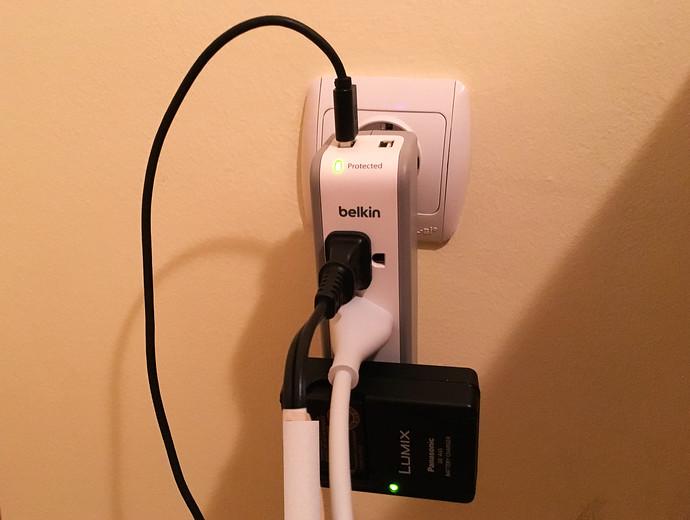belkin 3 outlet power strip