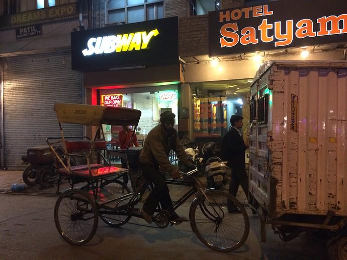 subway paharganj new delhi