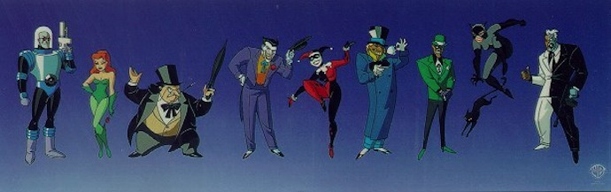 batman animated series characters