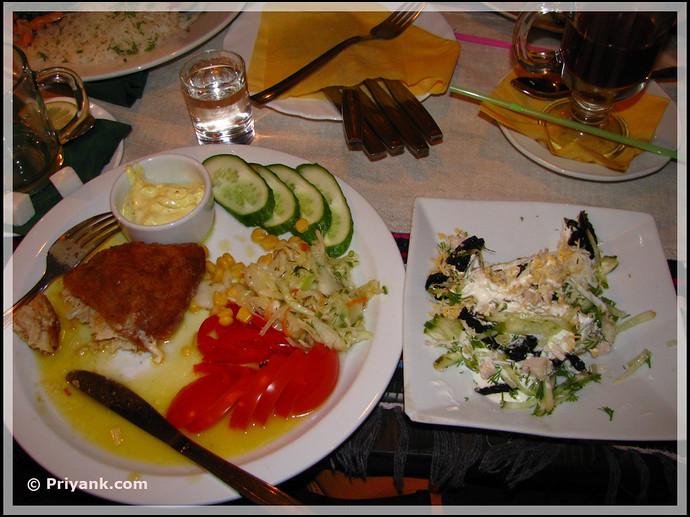 Dinner with friends - priyank