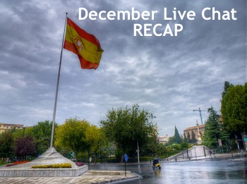 The Best Comments Of November 2011 And LIVE CHAT! Speaking Spain Plus Social Media With Arantxa Ros And Daniel Galan