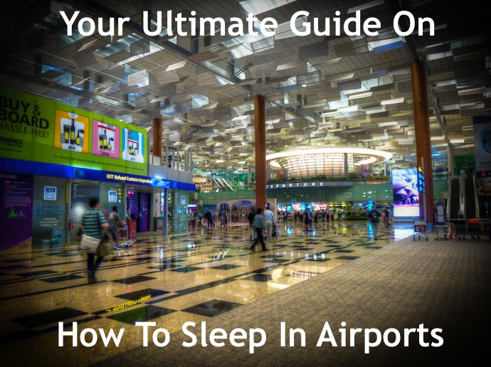 how to sleep in airports