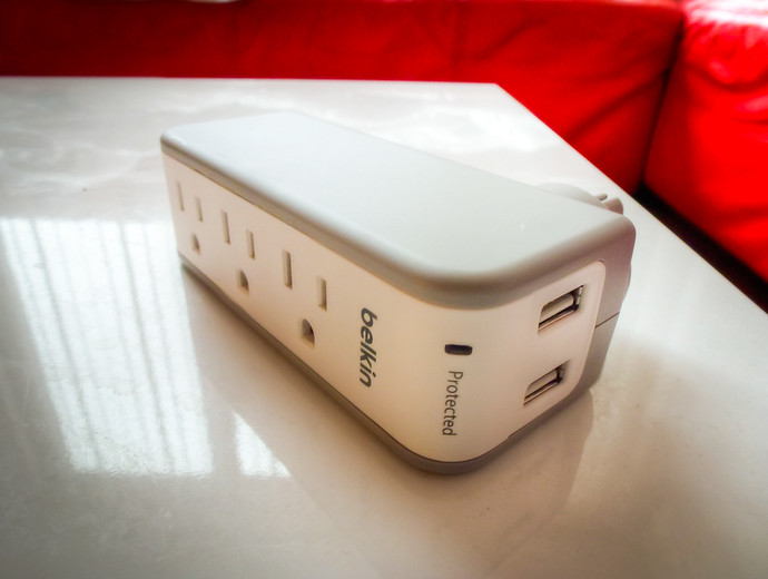 The One Travel Surge Protector That Can Safely Power All Of Your Gadgets